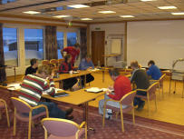 Delegates on a Team Building Course